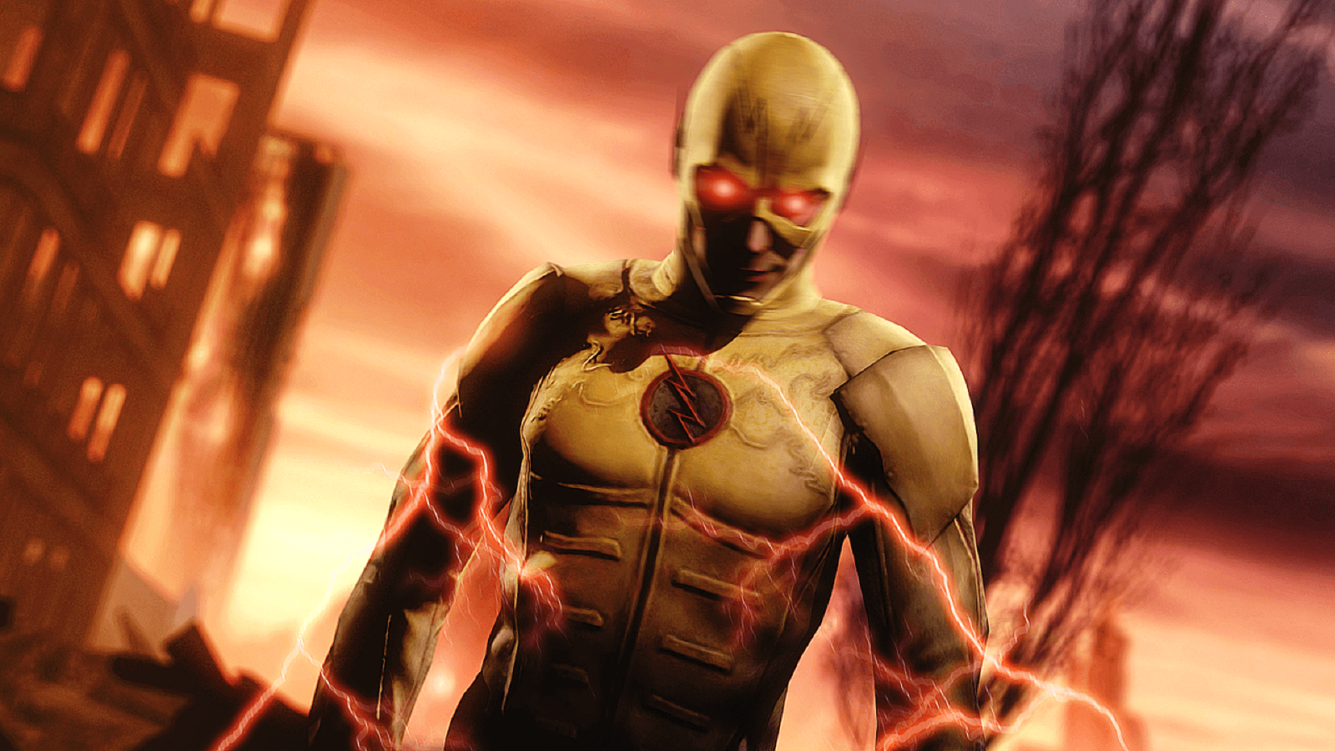 Reverse Flash Hd Wallpaper Background Image 1920x1080 Id