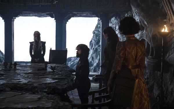 TV Show Game Of Thrones Tyrion Lannister Daenerys Targaryen Ellaria Sand Peter Dinklage Emilia Clarke Indira Varma Yara Greyjoy Gemma Whelan HD Wallpaper | Background Image