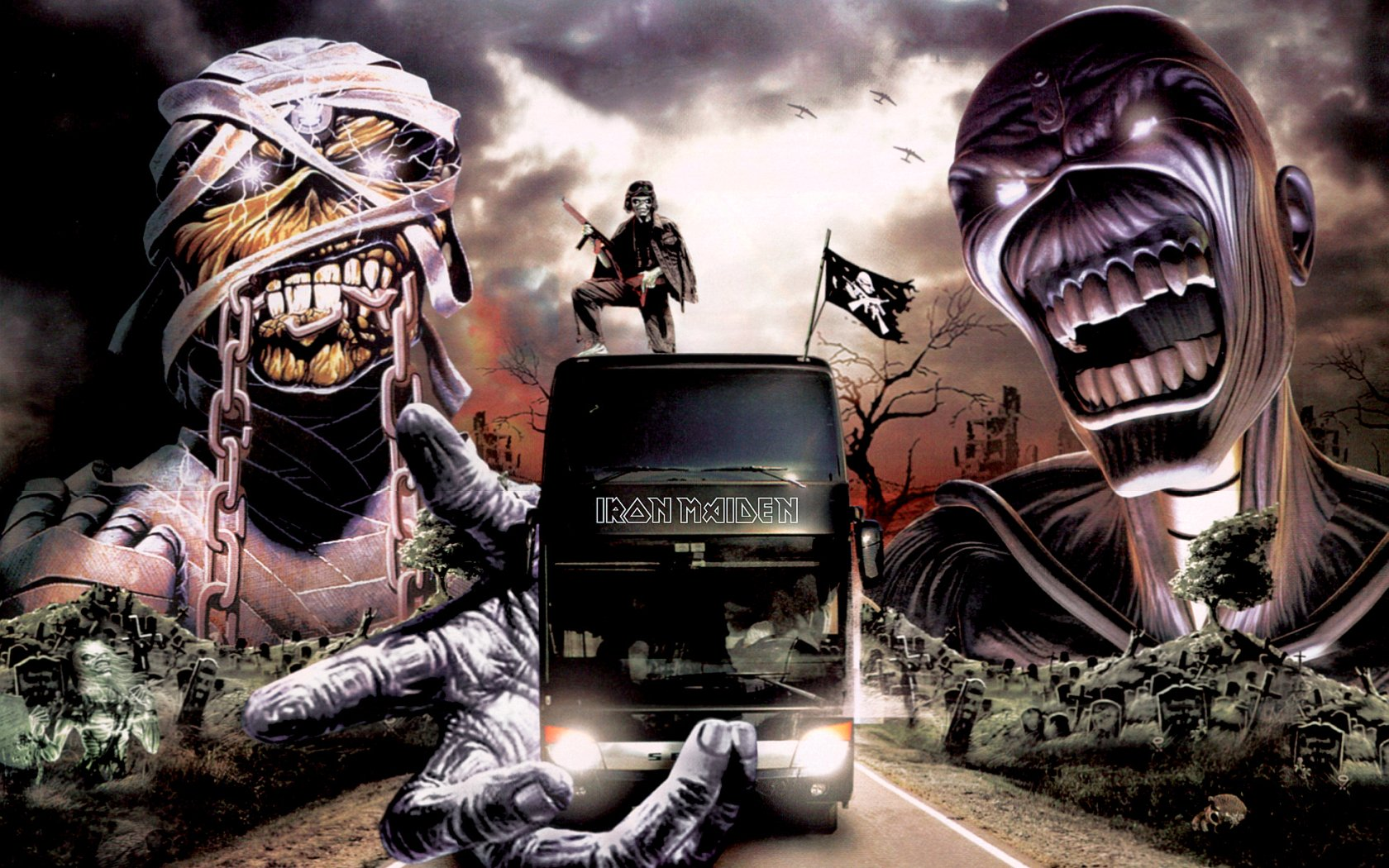 256 Iron Maiden Hd Wallpapers Background Images Wallpaper Abyss