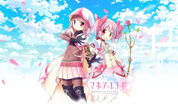 Anime Magia Record: Puella Magi Madoka Magica Side Story Puella Magi Madoka Magica Madoka Kaname Iroha Tamaki HD Wallpaper | Background Image