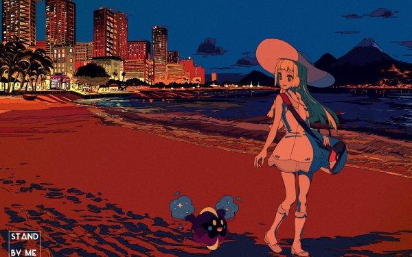 Videojuego Pokémon: Sol y Luna Pokémon Playa Lillie Cosmog Fondo de pantalla HD | Fondo de Escritorio