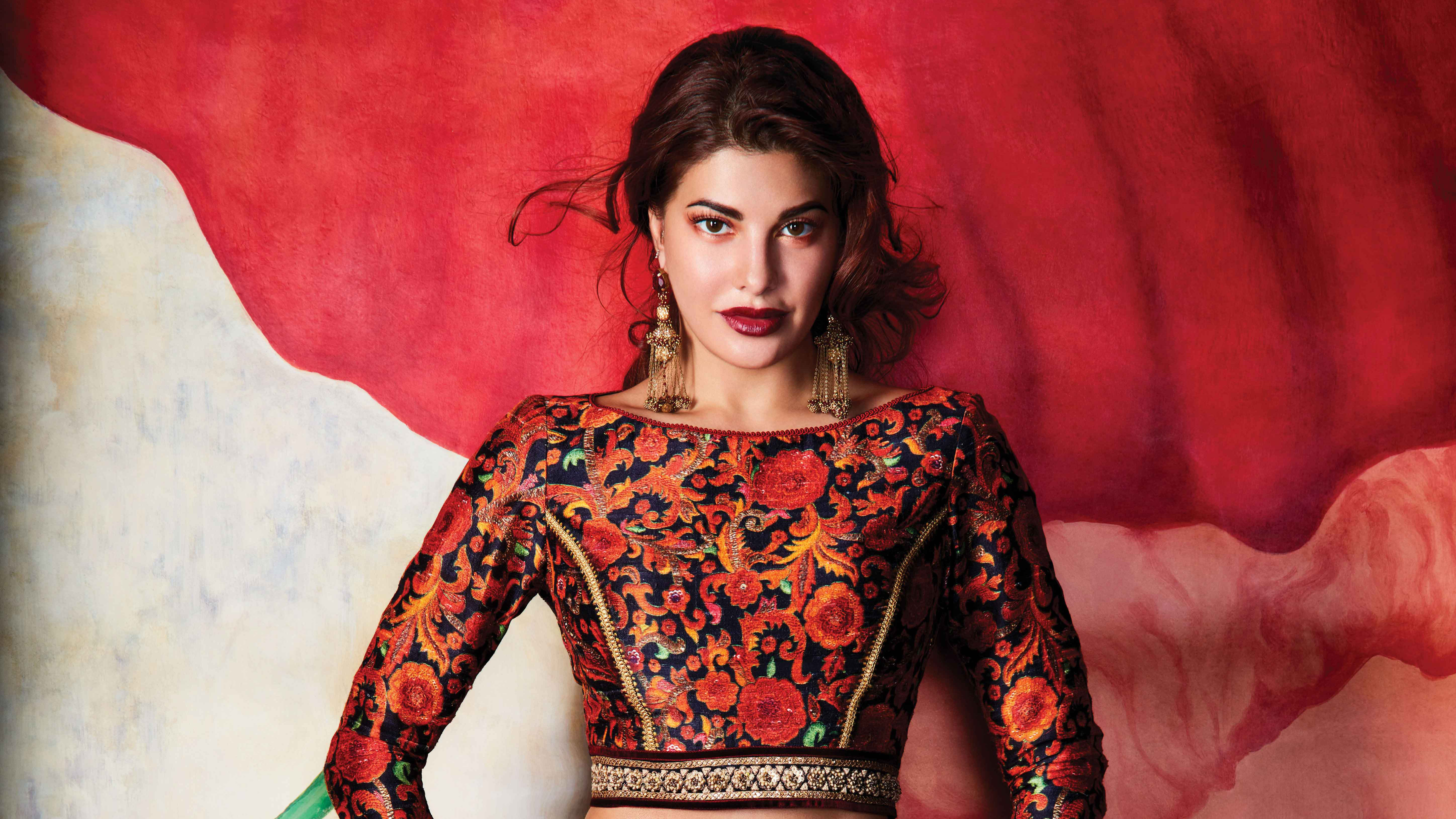 Jacqueline Fernandez 5k Retina Ultra Hd Wallpaper Background Image