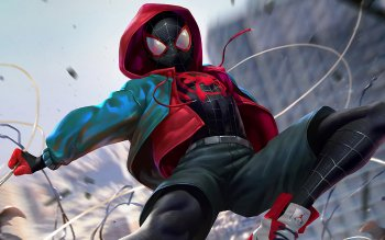76 Spider Man Into The Spider Verse Hd Wallpapers Background