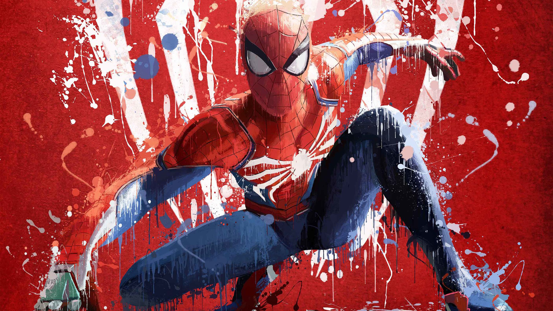 Spider Man Ps4 Fondo De Pantalla Hd Fondo De Escritorio