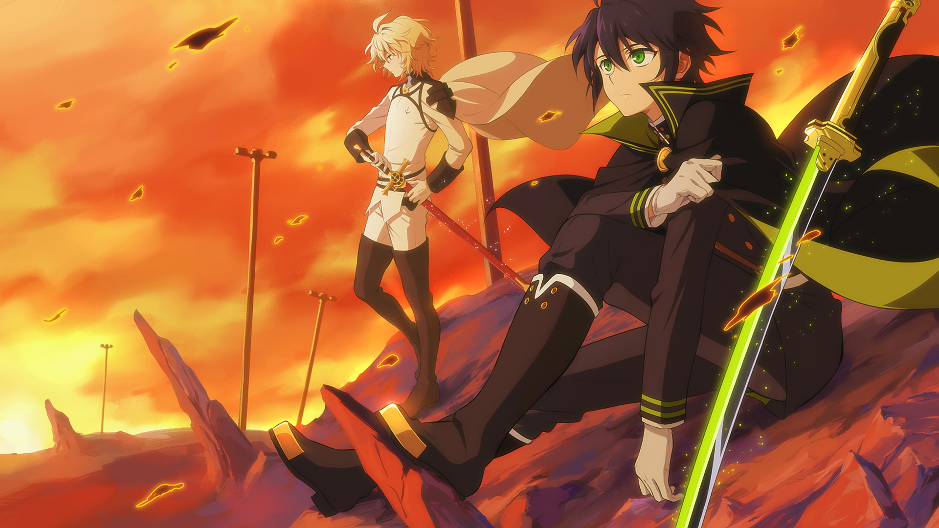 Seraph Of The End Hd Wallpaper Background Image 1920x1080 Id
