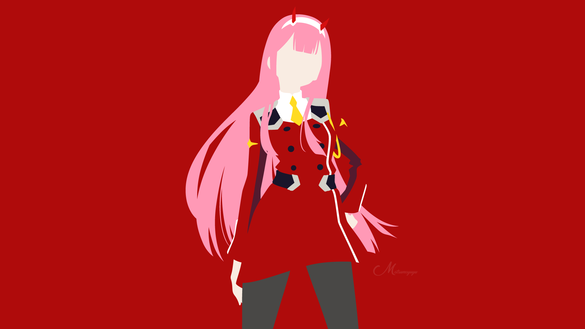 Zero Two from Darling in the FranXX HD Wallpaper ...
