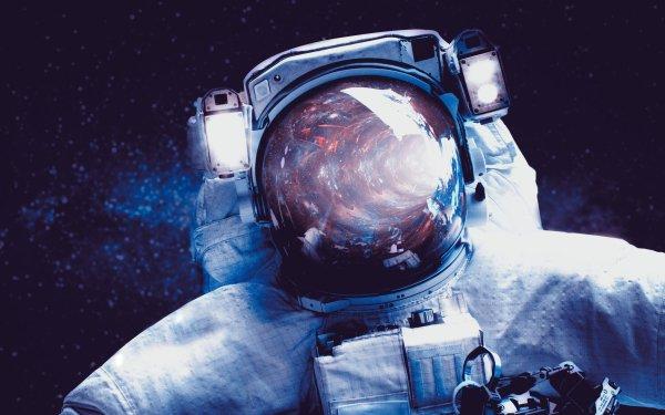 Ciencia ficción Astronauta Fondo de pantalla HD | Fondo de Escritorio