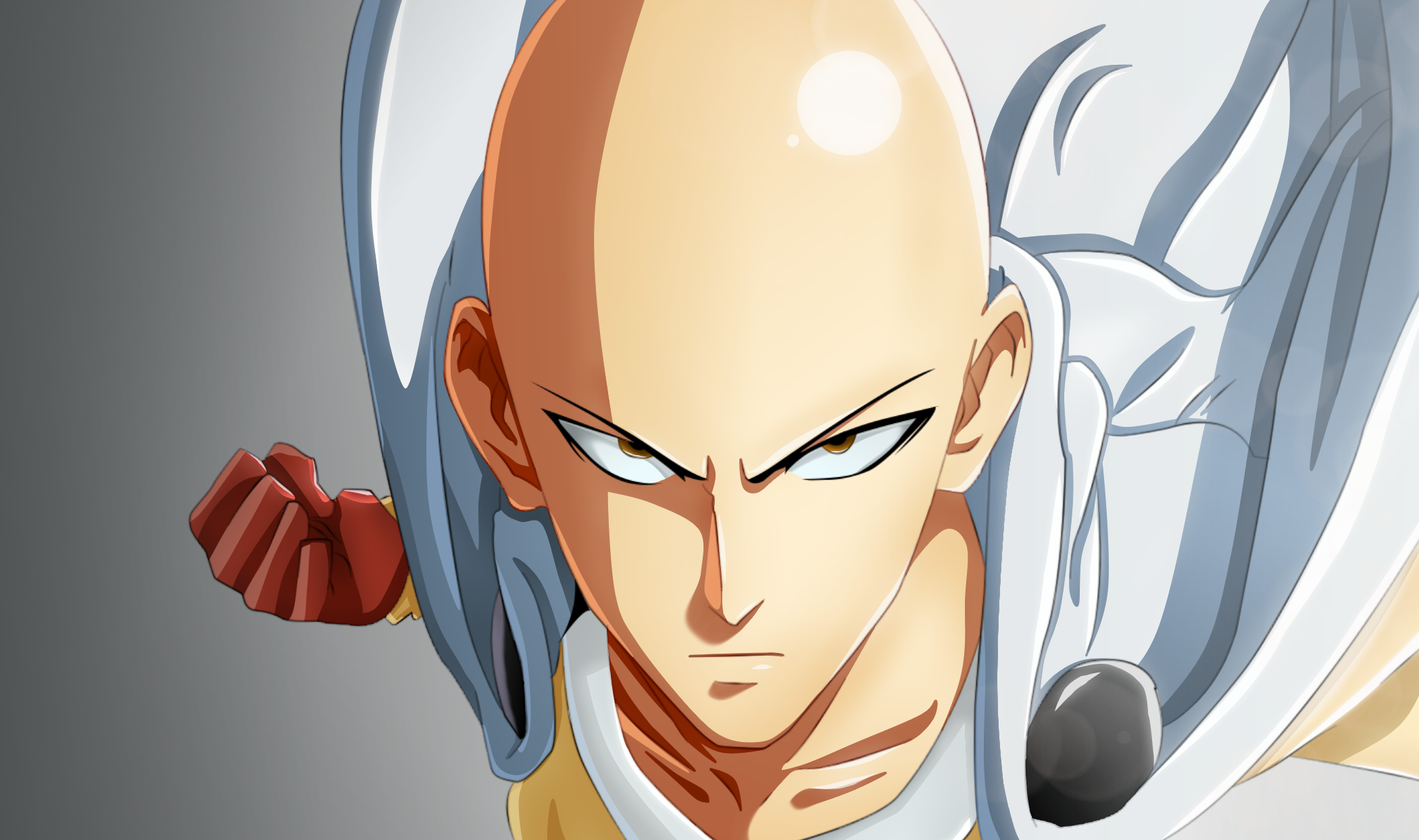 Cool Saitama Images - One-Punch Man HD Wallpaper | Background Image | 2100x1244 ...
