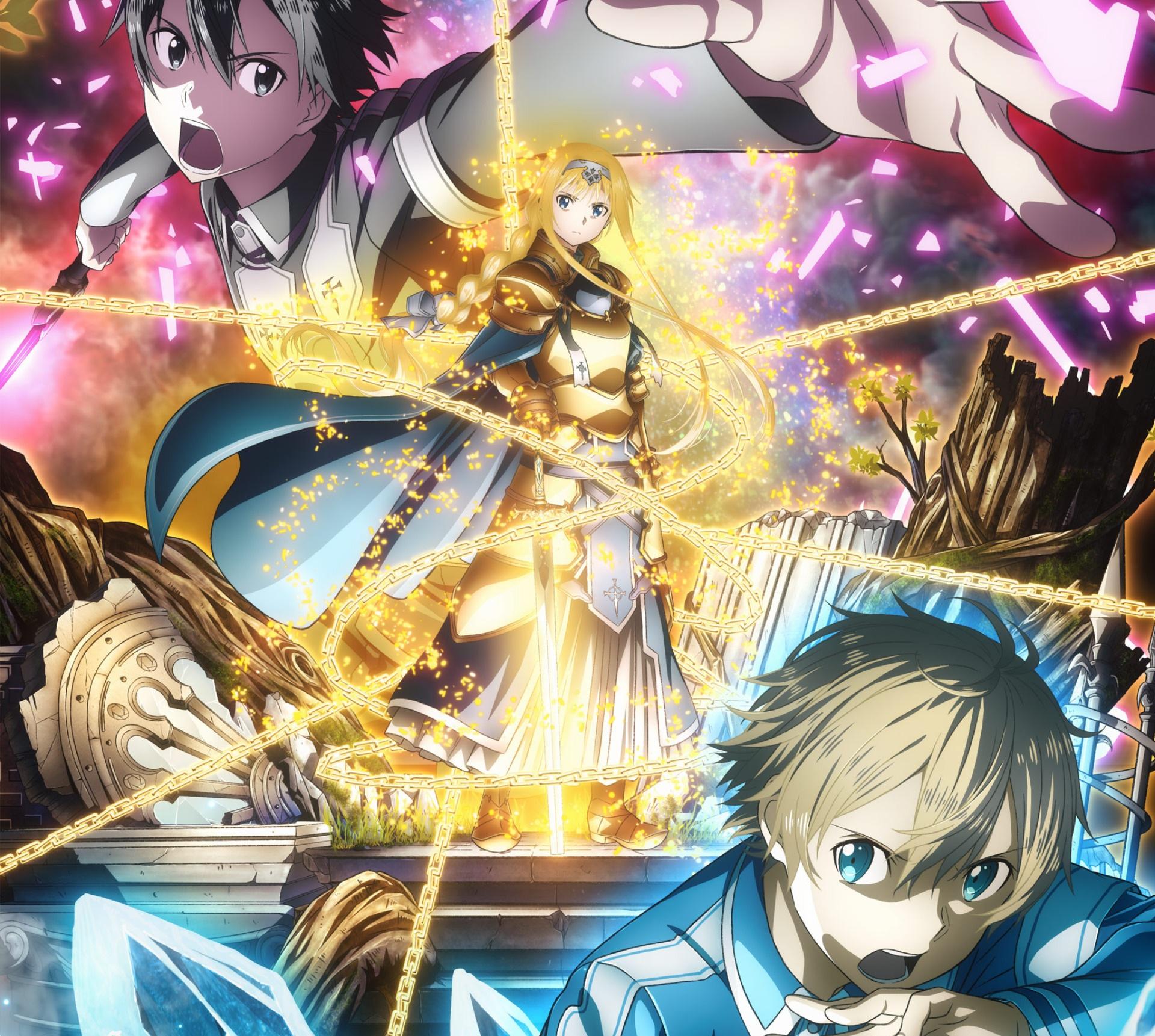 Sword Art Online Alicization Hd Wallpaper Background
