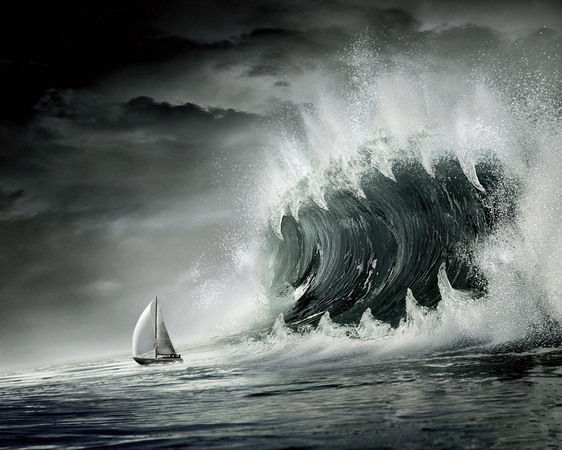 CGI - Ocean  Wallpaper