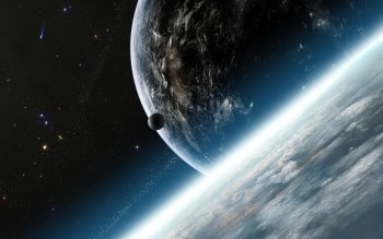Sci Fi - Planetscape Wallpapers and Backgrounds ID : 950