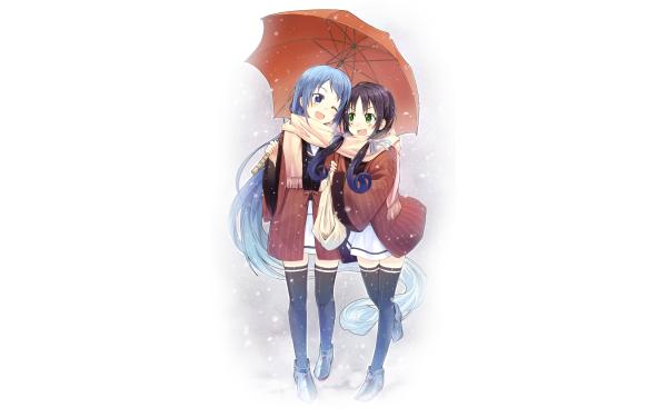 Anime Kantai Collection Samidare Suzukaze HD Wallpaper   Background Image