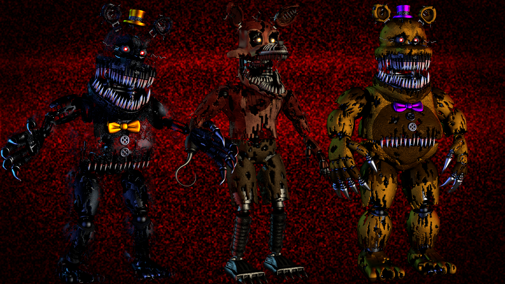 Five Nights At Freddy S 4 Wallpapers Hd Wallpaper Background