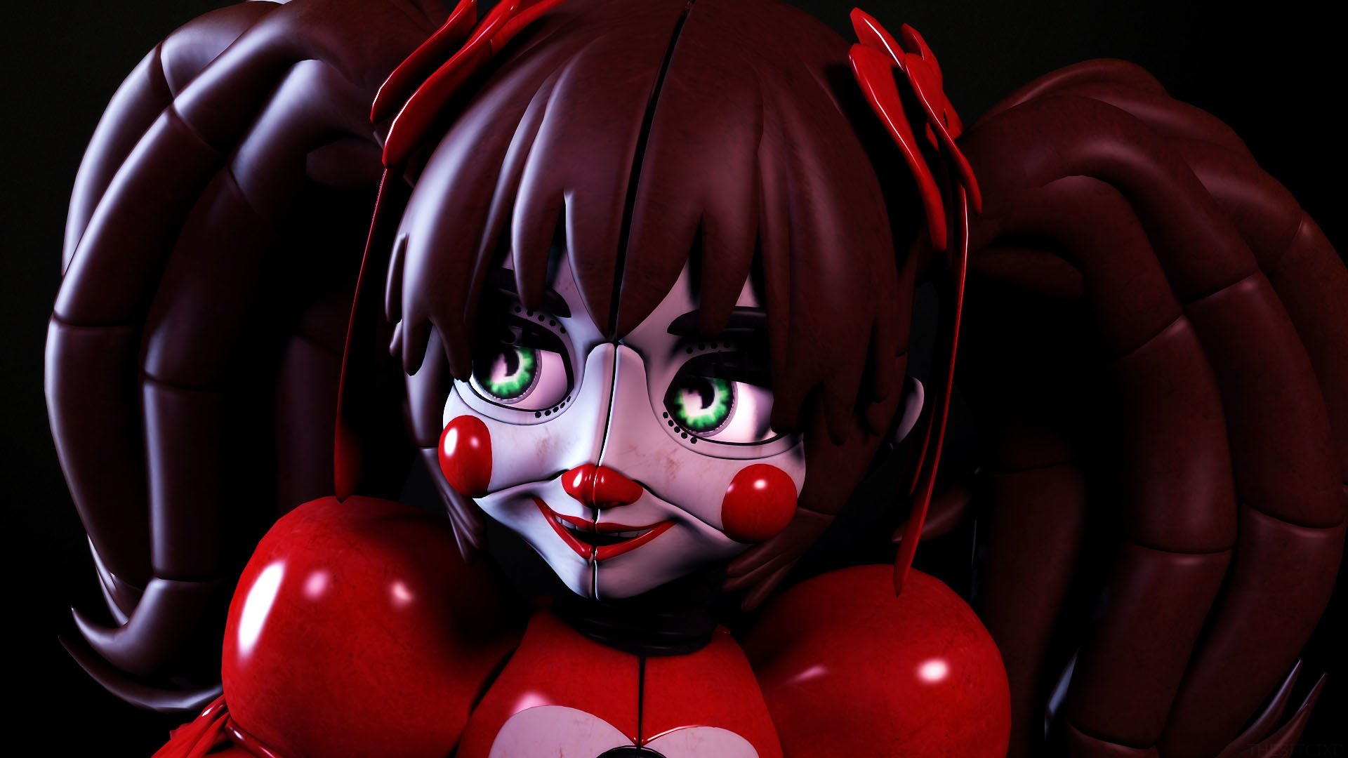 Five Nights At Freddy S Sister Location Hd Wallpaper Background