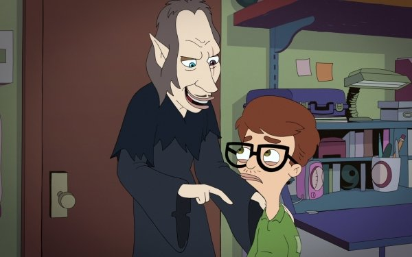 TV Show Big Mouth Andrew Glouberman HD Wallpaper | Background Image
