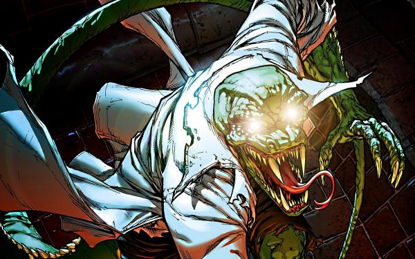 Comics Spider-Man Lizard HD Wallpaper | Background Image