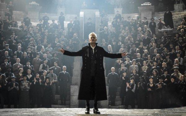 Movie Fantastic Beasts: The Crimes of Grindelwald Johnny Depp HD Wallpaper   Background Image