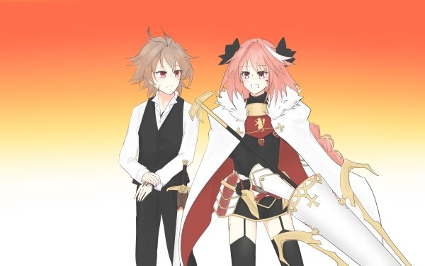 Anime Fate/Apocrypha Fate Series Sieg Astolfo HD Wallpaper | Background Image