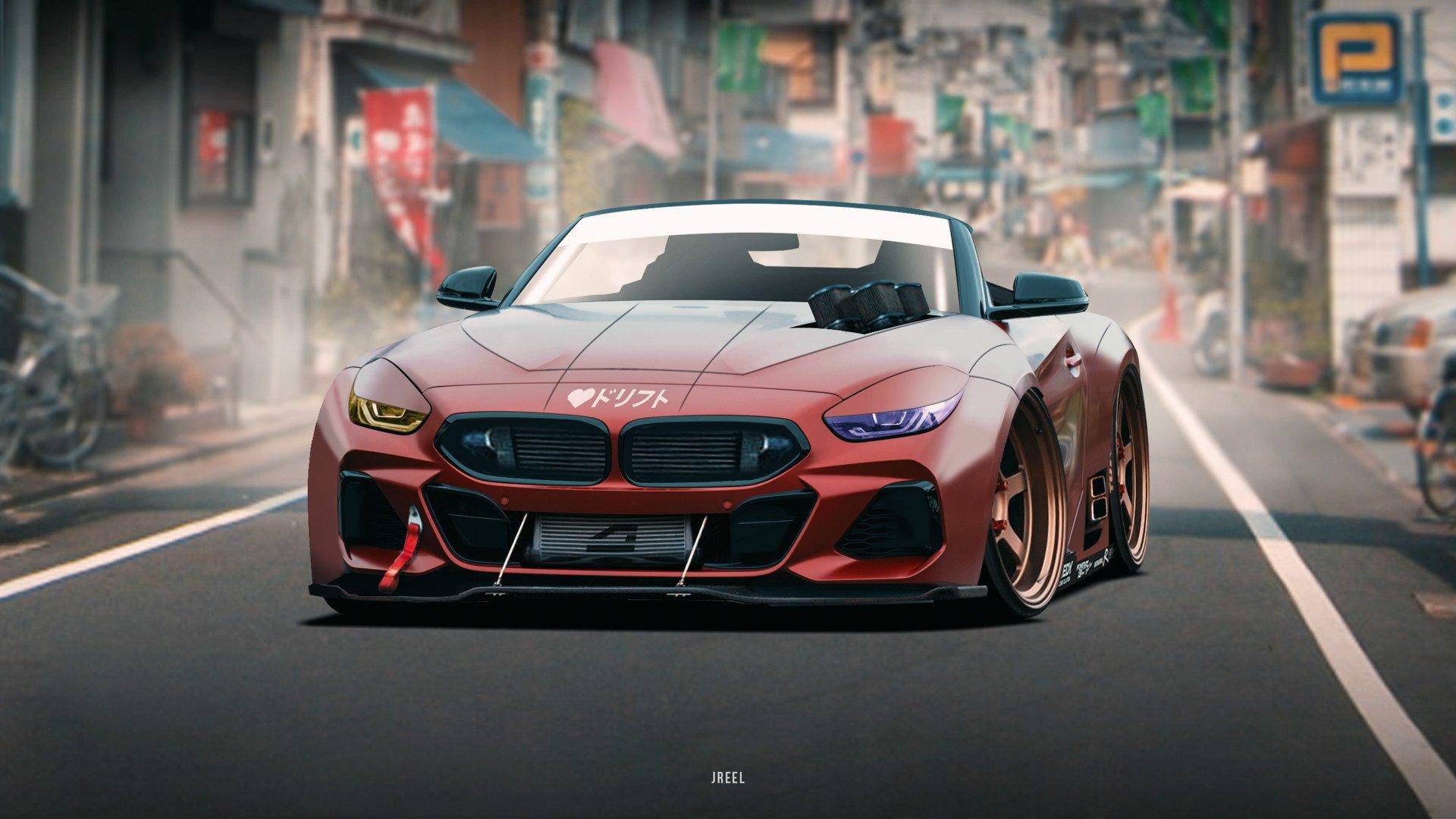 BMW Z4 HD Wallpaper | Background Image | 1920x1080 | ID ...