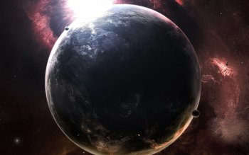 Science-Fiction - Planet Wallpapers and Backgrounds ID : 9602