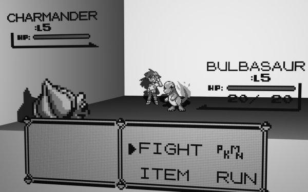 Videojuego Pokémon: Rojo y Azul Pokémon Bulbasaur Charmander Fondo de pantalla HD   Fondo de Escritorio