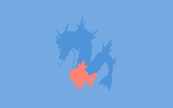 Anime Pokémon Magikarp Gyarados HD Wallpaper | Background Image