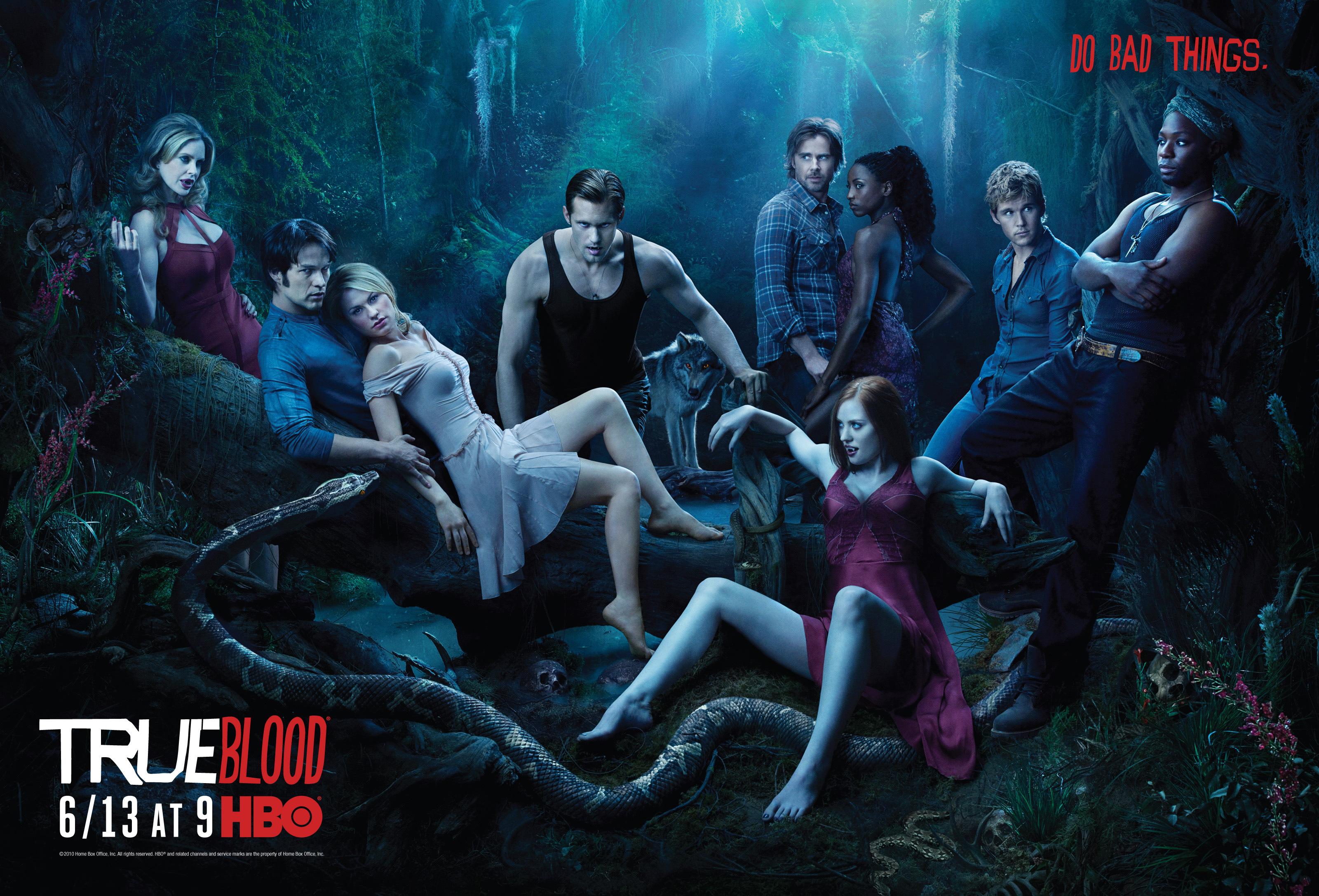 TV-program - True Blood  Bakgrund