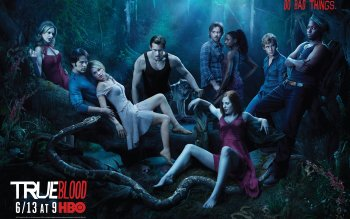 Televisieprogramma - True Blood Wallpapers and Backgrounds ID : 96342