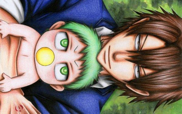 Anime Beelzebub Baby Beel Tatsumi Oga Fond d'écran HD | Arrière-Plan