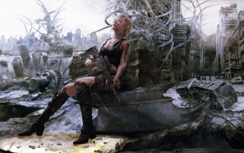 Научная фантастика - Post Apocalyptic Wallpapers and Backgrounds ID : 96592