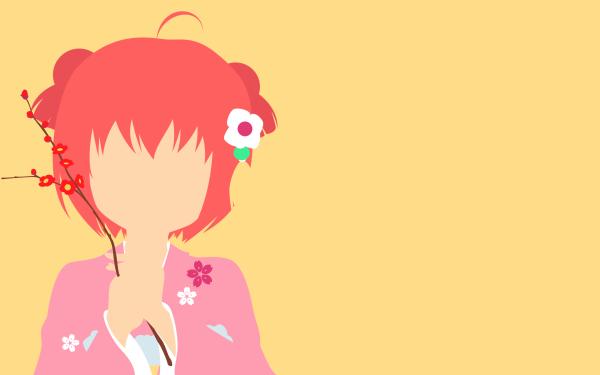 Anime Yuru Yuri Akari Akaza HD Wallpaper | Background Image
