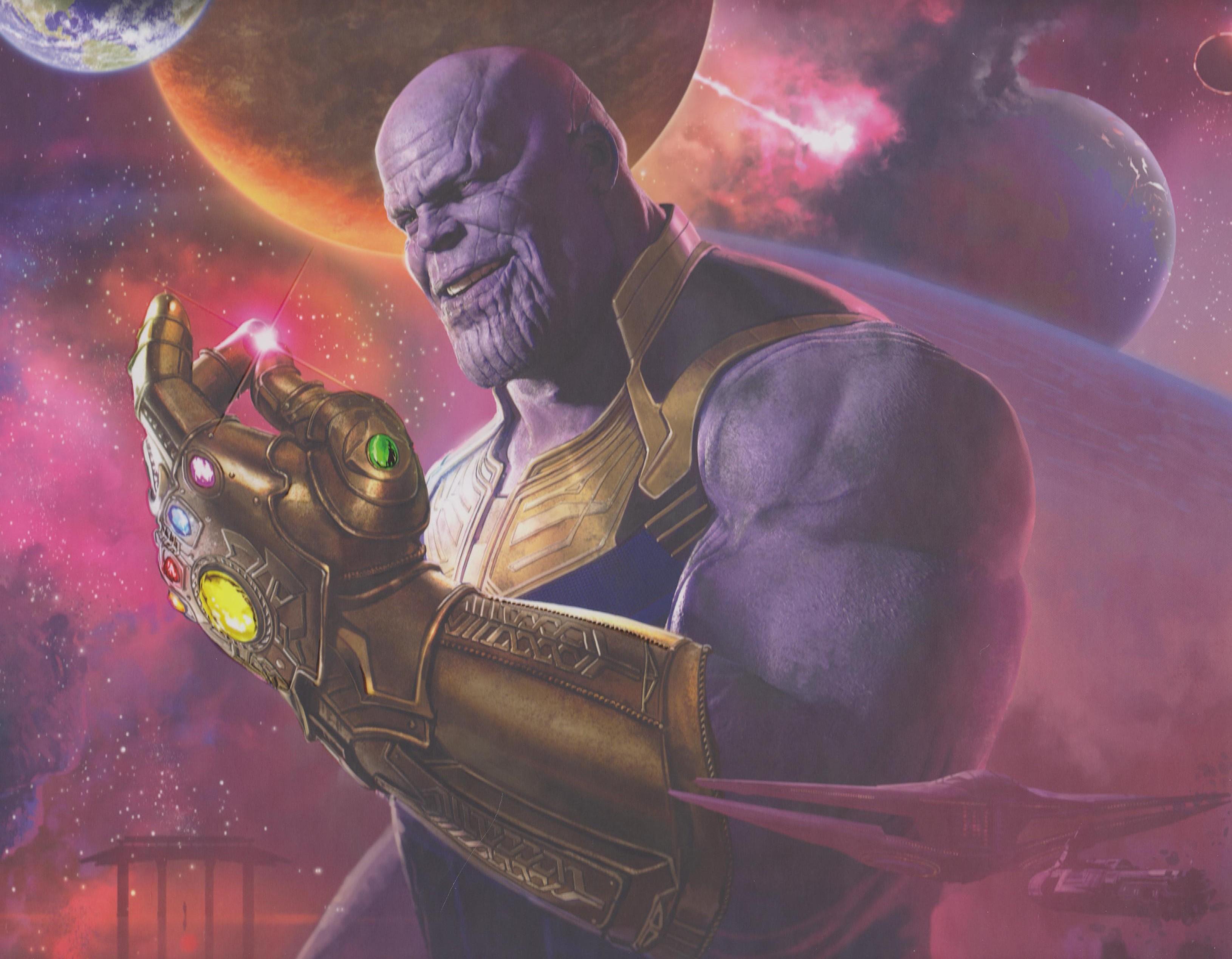 Avengers Infinity War Concept Art HD Album on