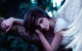 Fantasy - Angel Wallpapers and Backgrounds ID : 96690