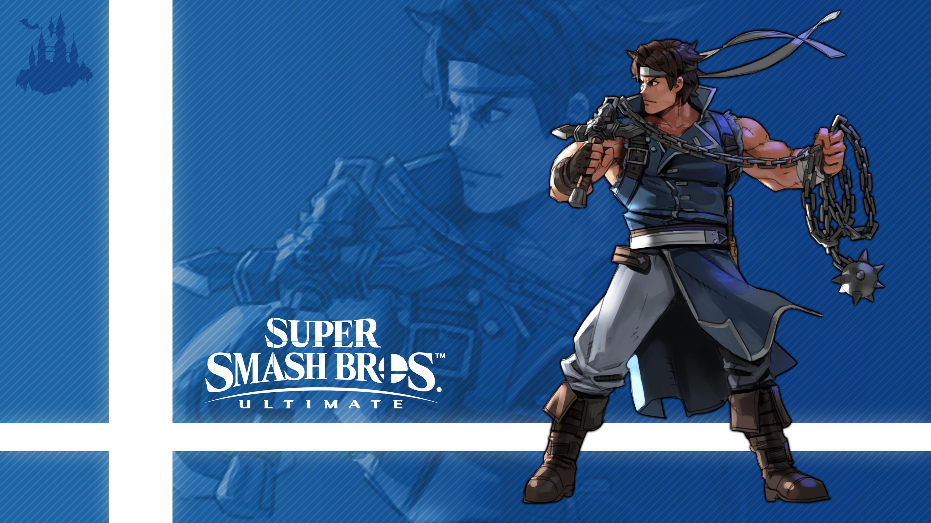 Richter In Super Smash Bros Ultimate Hd Wallpaper Background