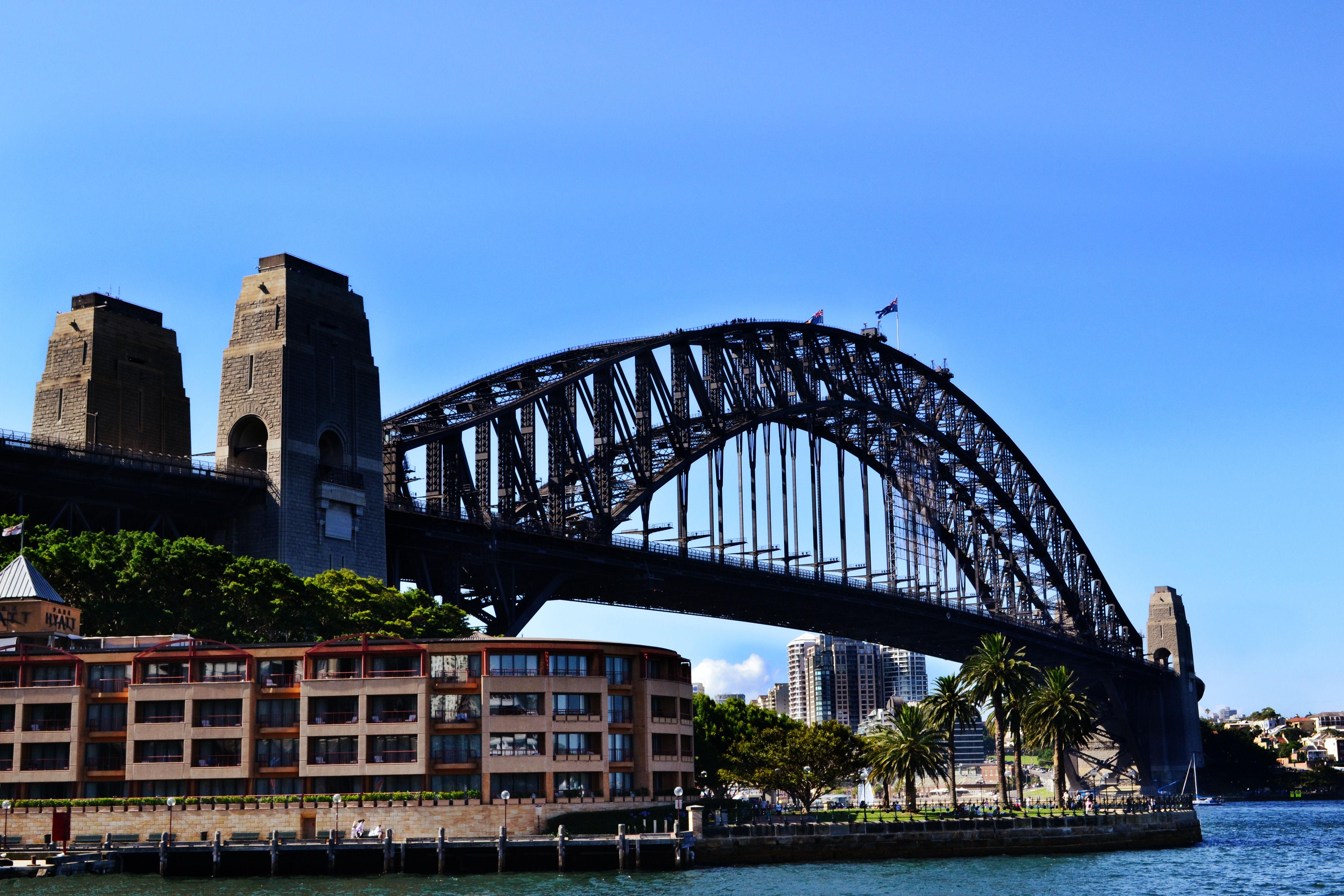 Sydney Harbour Bridge 4k Ultra Hd Wallpaper Background Image