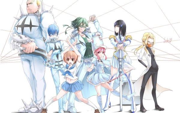 Anime Kill La Kill Satsuki Kiryūin Mako Mankanshoku Nonon Jakuzure HD Wallpaper | Background Image