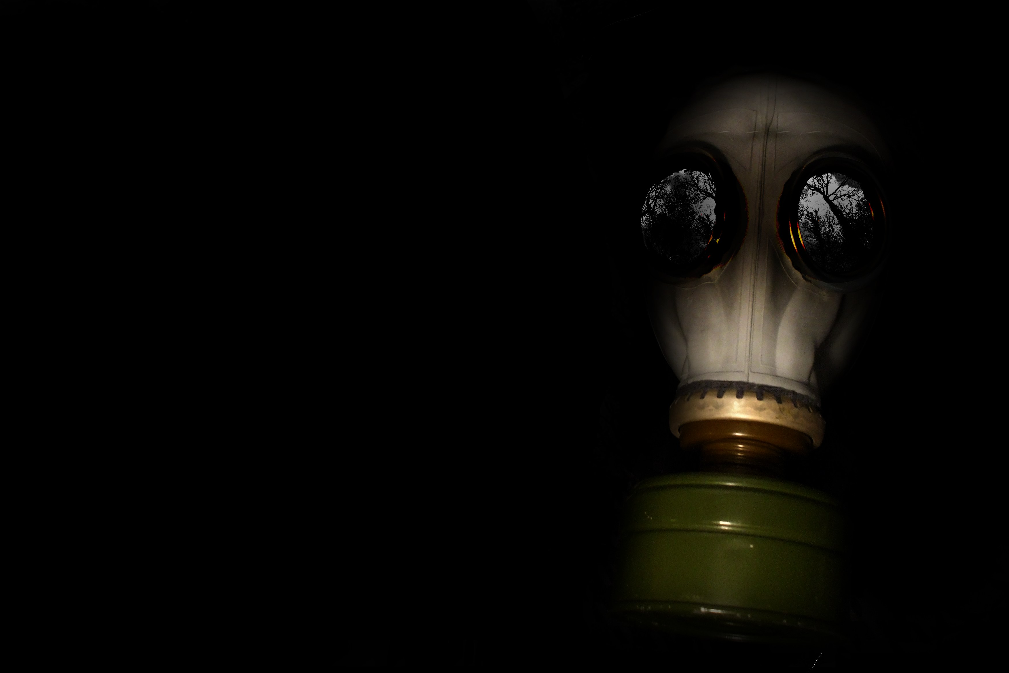Science-Fiction - Gas Mask  Wallpaper
