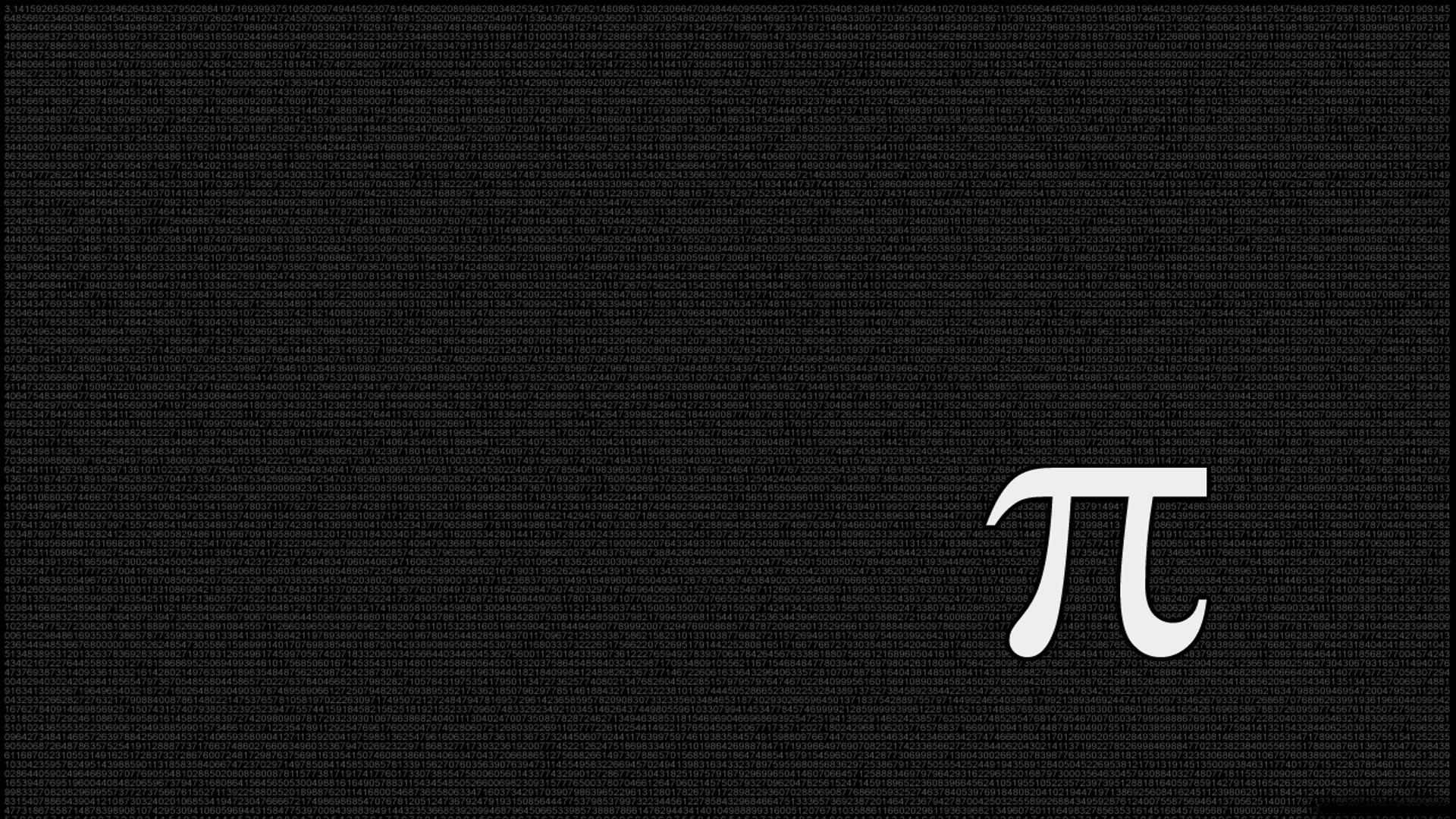 Diversen - Math  Pi (Math) Wallpaper