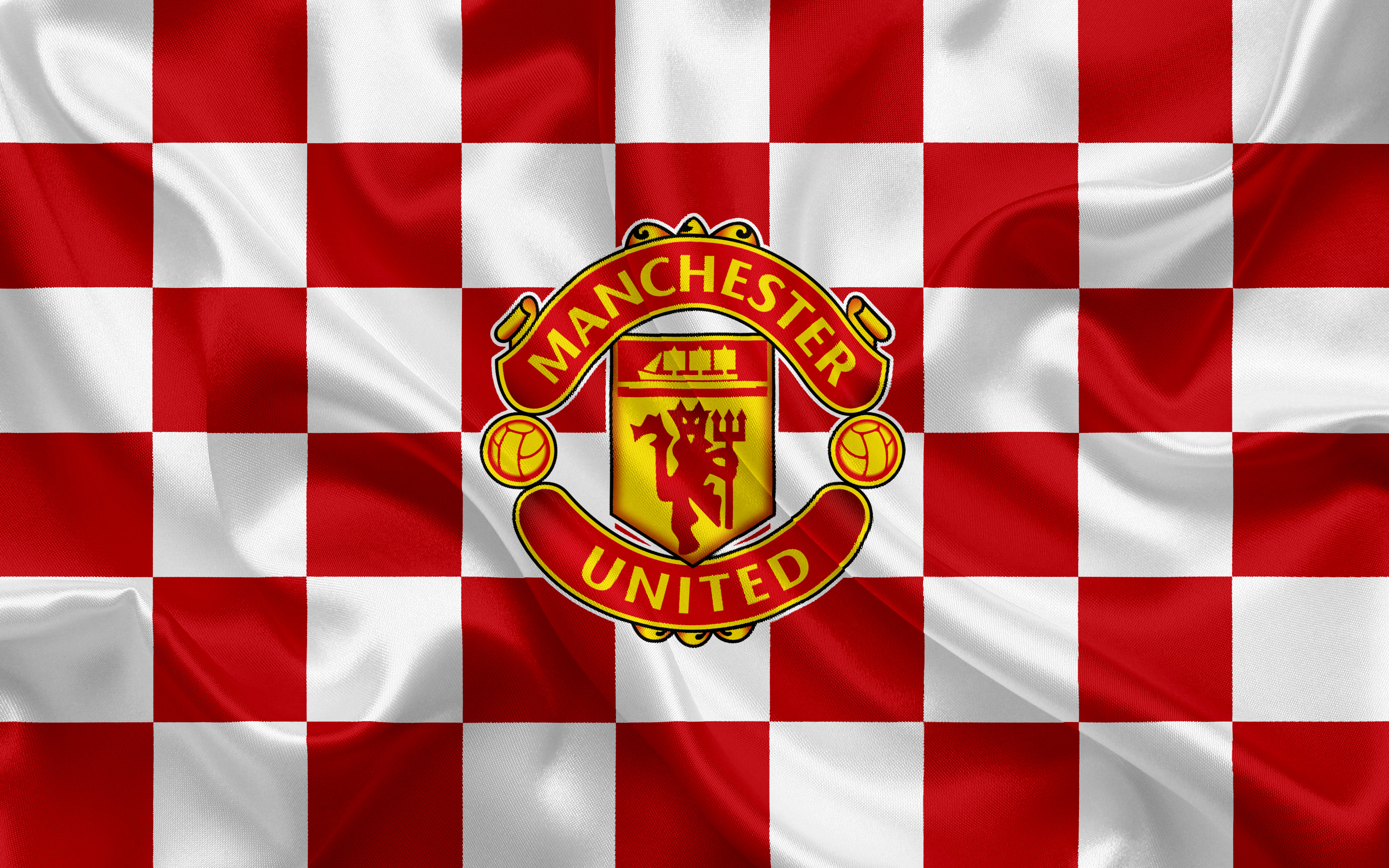 Manchester United Logo 4k Ultra Hd Wallpaper Background Image 3840x2400 Id 969523 Wallpaper Abyss