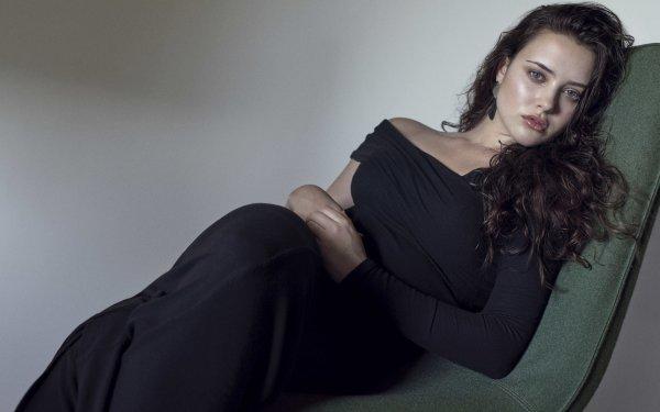 Kändis Katherine Langford Skådespelerskor Australien Brunette Actress HD Wallpaper | Background Image