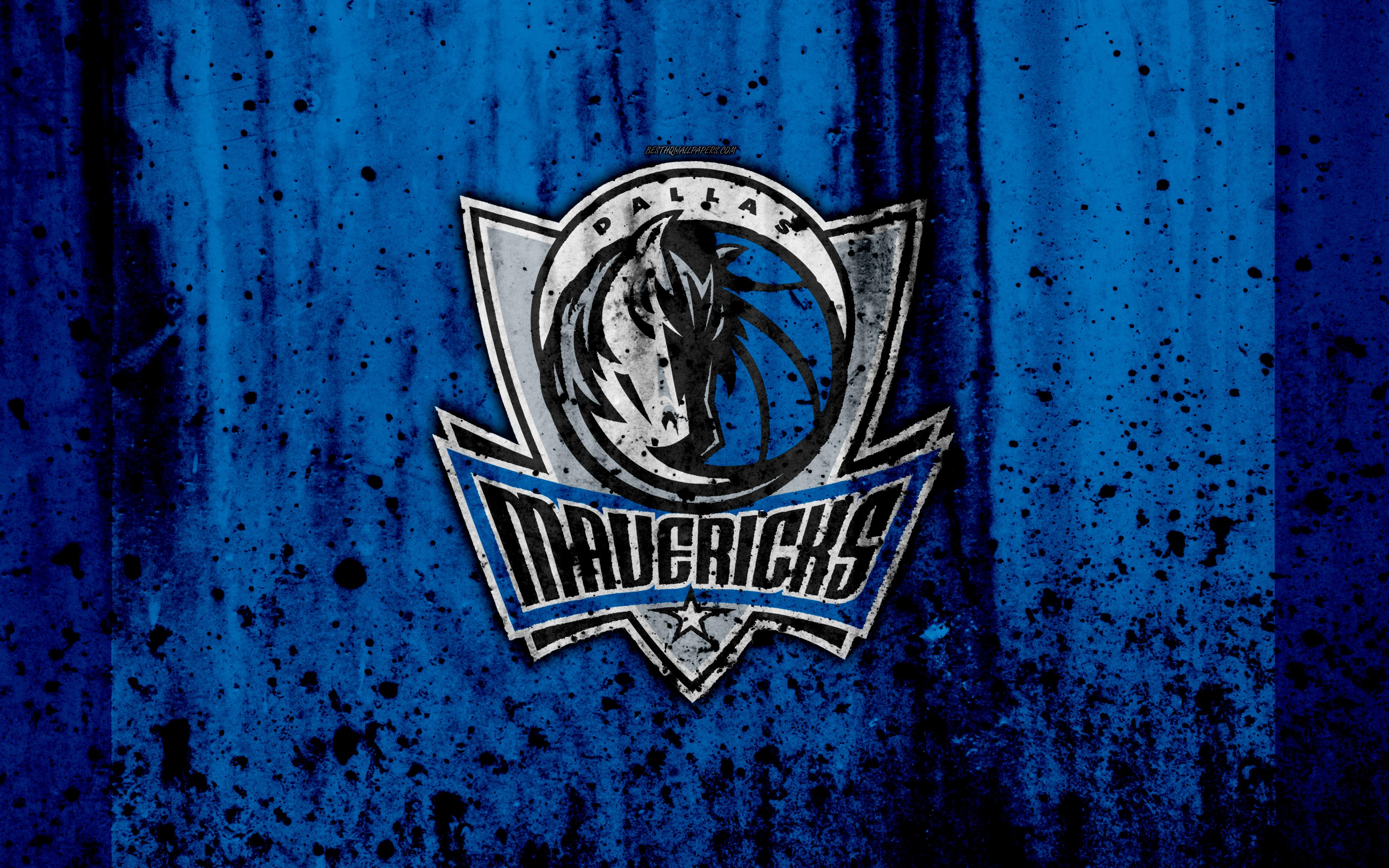 Dallas Mavericks Logo 4k Ultra Fondo De Pantalla Hd Fondo