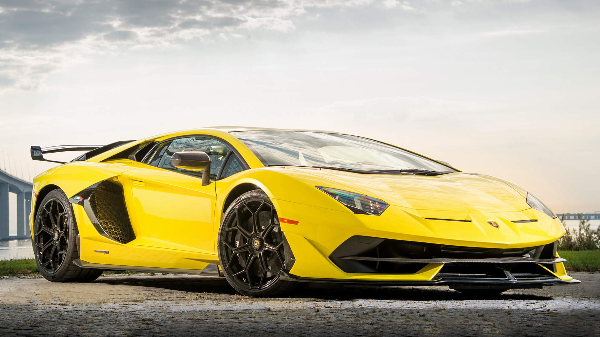 2019 Lamborghini Aventador Svj Hd Wallpaper Background Image