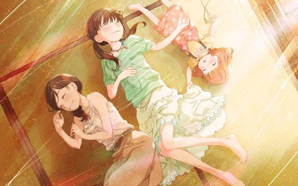 Anime March Comes in Like a Lion Akari Kawamoto Hinata Kawamoto Momo Kawamoto HD Wallpaper   Background Image