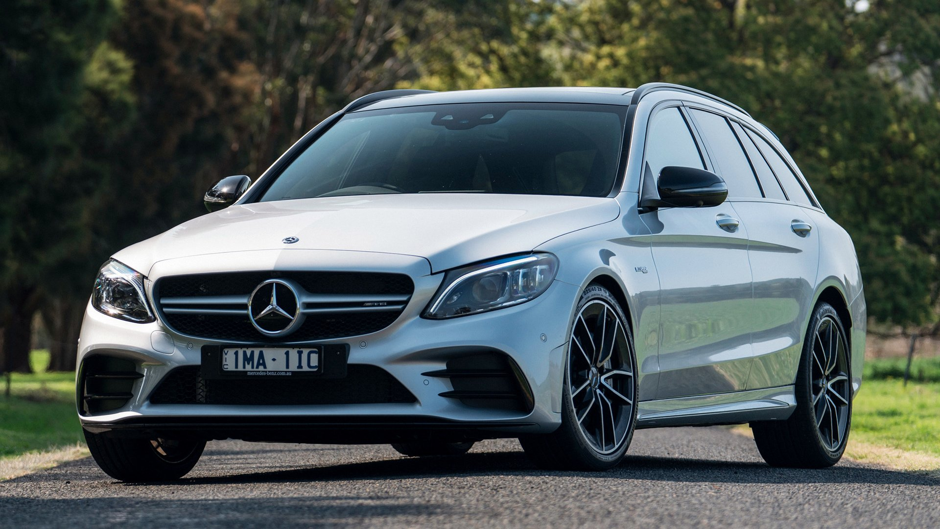 2018 Mercedes-AMG C 43 Estate HD Wallpaper | Background ...