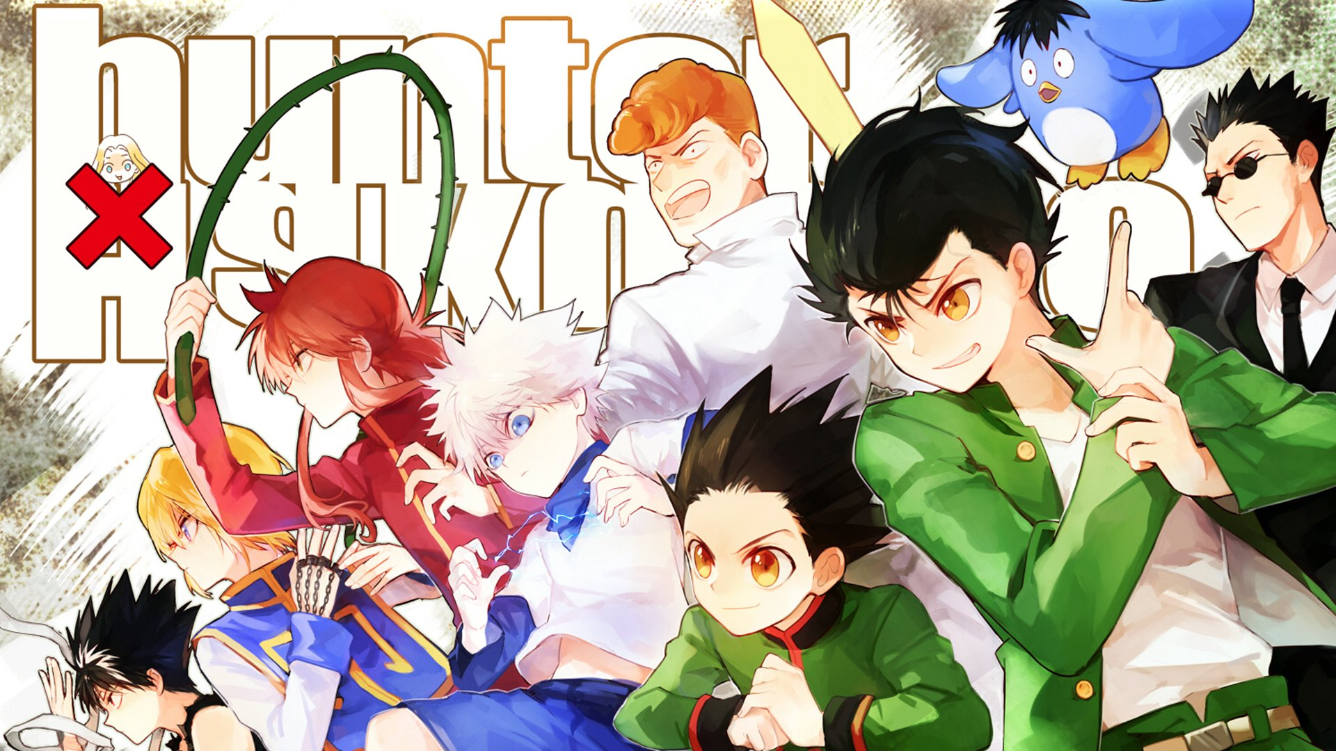 Hunter X Hakusho Hd Wallpaper Background Image 1920x1080 Id