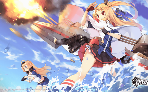 Anime Azur Lane Video Game Cleveland Columbia HD Wallpaper | Background Image