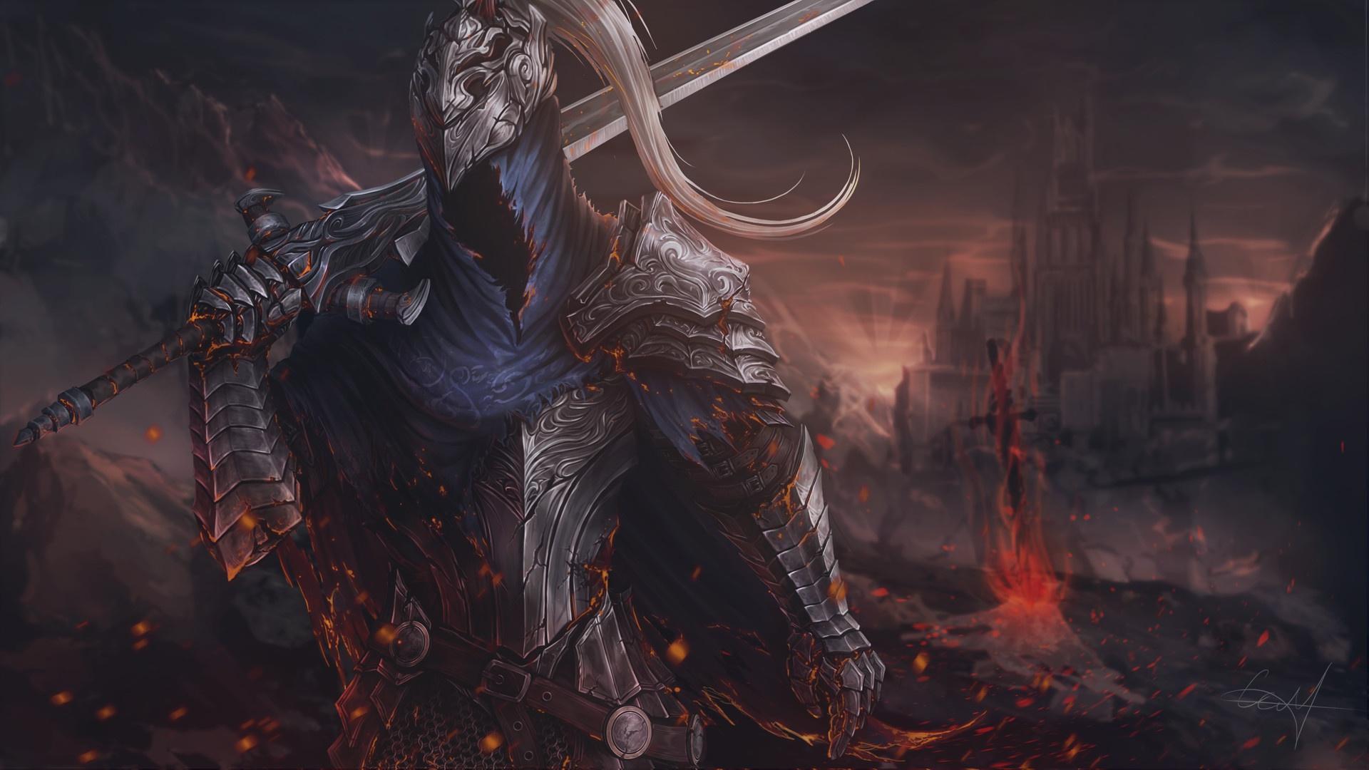 Dark Souls Hd Wallpaper Background Image 1920x1080 Id 975247