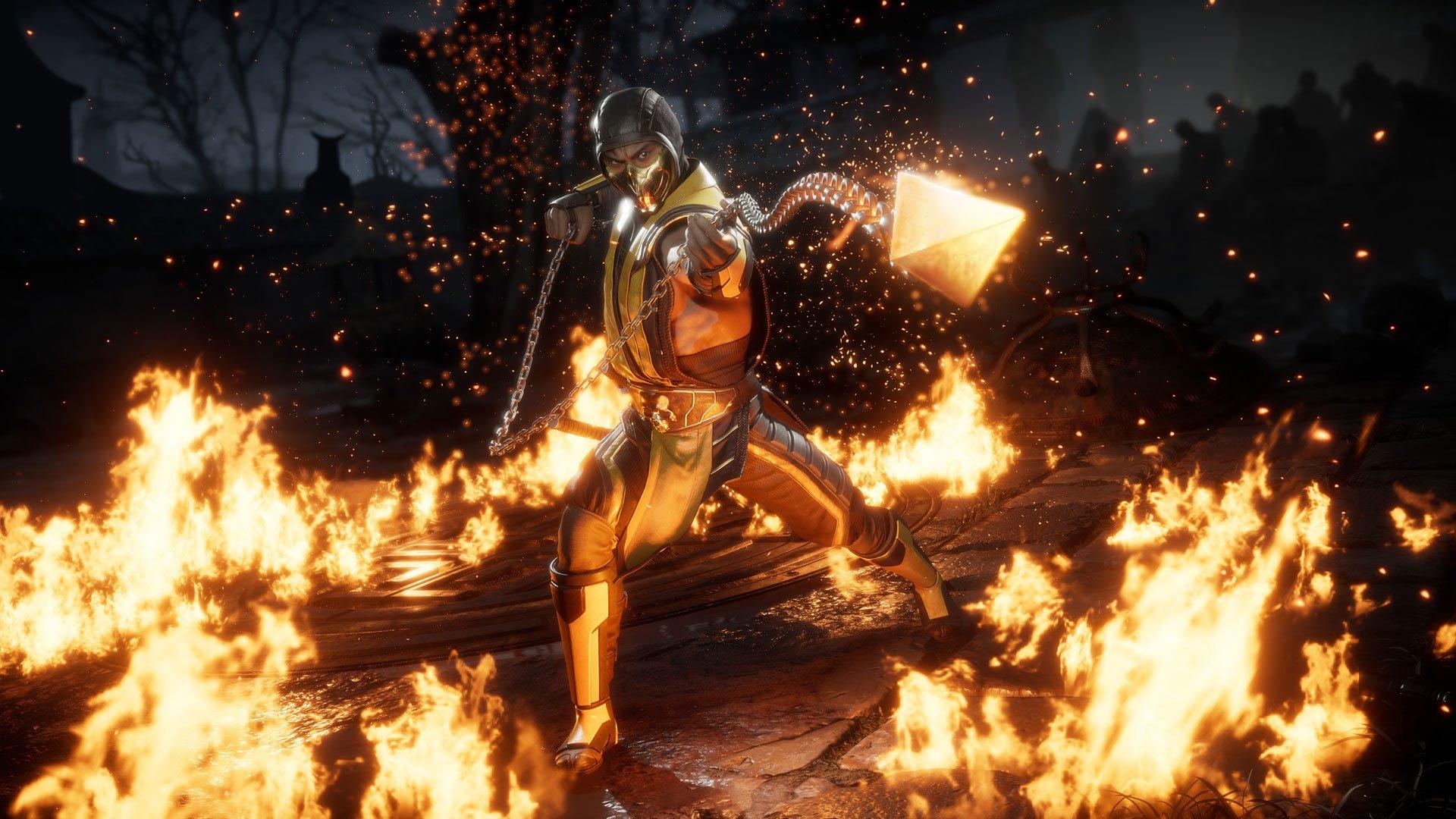 Mortal Kombat 11 Scorpion The Game Awards 2018 Hd