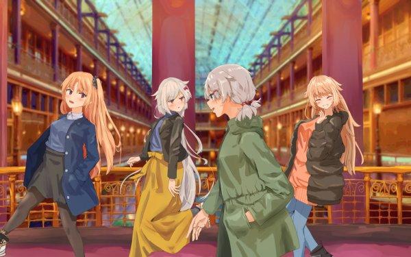 Anime Azur Lane Cleveland Columbia HD Wallpaper | Background Image
