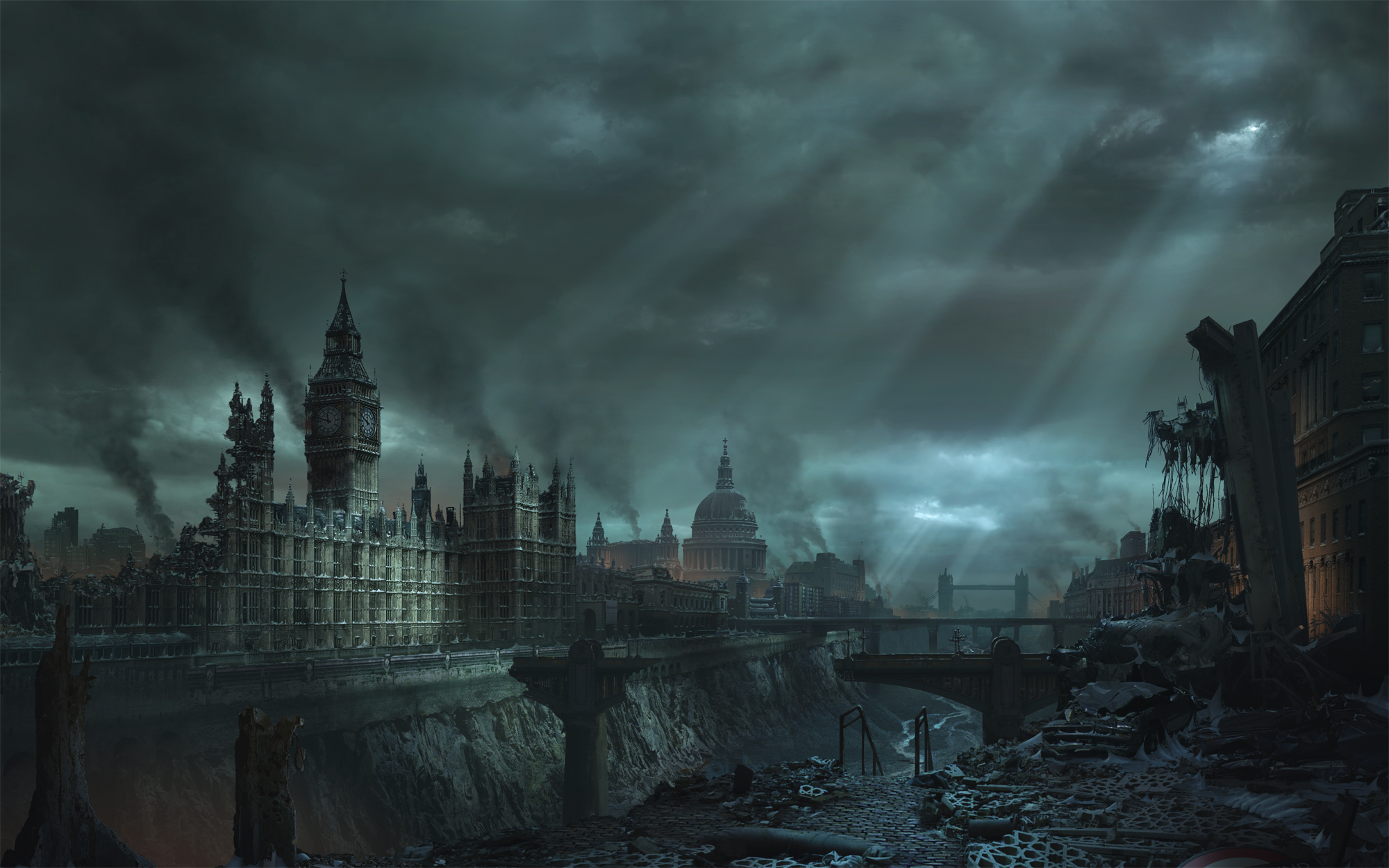 Video Game - Hellgate: London  Hellgate London Wallpaper